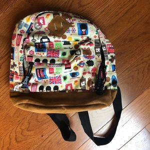 Handbags - Small Backpack with London Designs